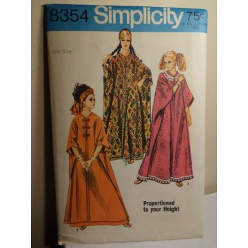 Simplicity Sewing Pattern 8354