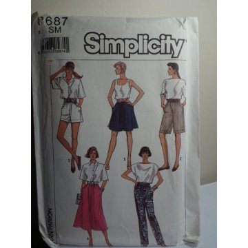 Simplicity Sewing Pattern 8687