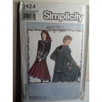 Simplicity Sewing Pattern 9424