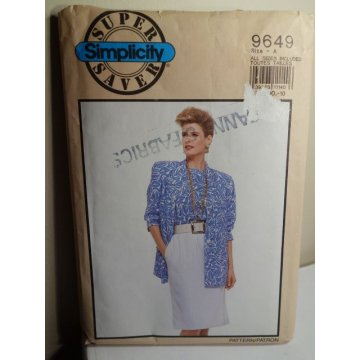 Simplicity Sewing Pattern 9649