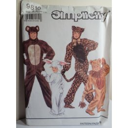 Simplicity Sewing Pattern 9810