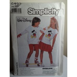 Simplicity Walt Disney Sewing Pattern 8461
