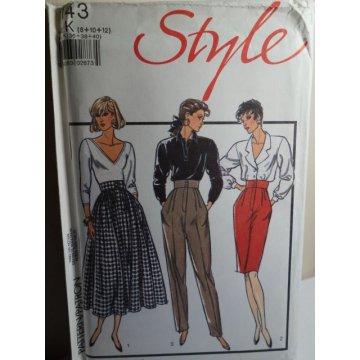 Style Sewing Pattern 1143