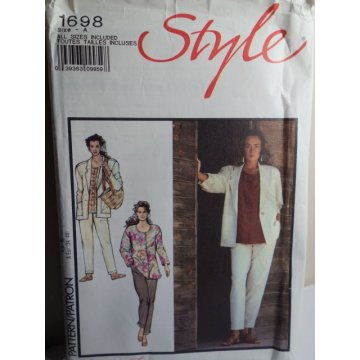 Style Sewing Pattern 1698