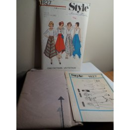 Style Sewing Pattern 1827