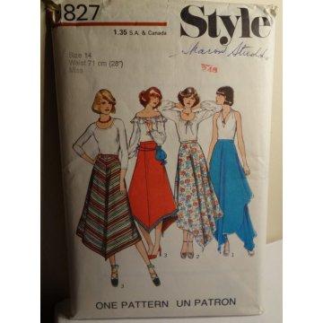 Style Sewing Pattern 1827