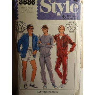 Style Sewing Pattern 3586