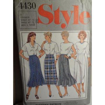 Style Sewing Pattern 4430