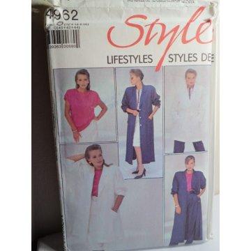 Style Sewing Pattern 4962