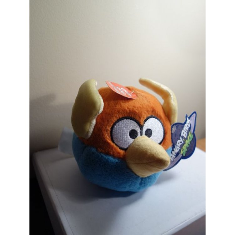 Angry Birds Toys With Sound : Angry birds space lightning blue bird plush toy sound