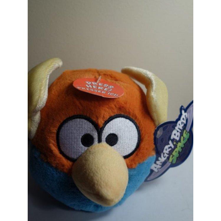 Anger Bird Toy : Angry birds space lightning blue bird plush toy sound