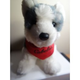 BRAND NEW Cabelas Douglas Husky Puppy Plush Toy