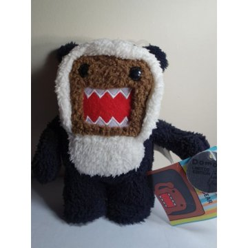 Brand New DOMO Panda Bear Plush Toy, Limited Edition
