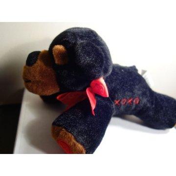 Cute VALENTINE XOXO PUPPY Plush Toy.