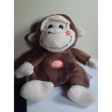 Plush Monkey - Soft Stuffed Animal