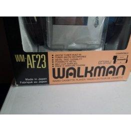 Sony Walkman WM-AF23 Radio Cassette Player - NEW