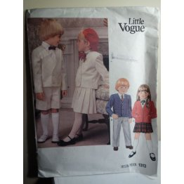 Little Vogue Sewing Pattern 1313