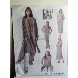 VOGUE ADRI Sewing Pattern 2148