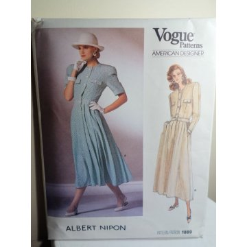 Vogue Albert Nipon Sewing Pattern 1889