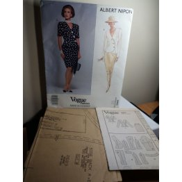 Vogue Albert Nipon Sewing Pattern 2683