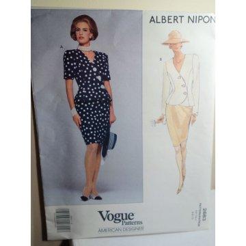 Vogue Albert Nipon Sewing Pattern 2683