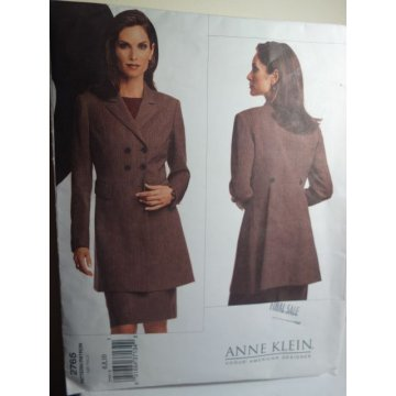Vogue Anne Klein Sewing Pattern 2765