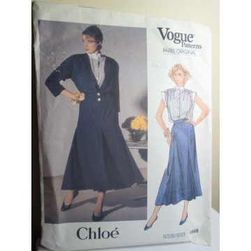 VOGUE Chloe Sewing Pattern 1588