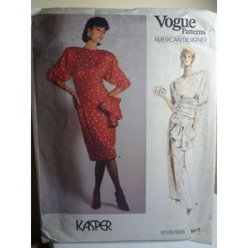 Vogue KASPER Sewing Pattern 1691