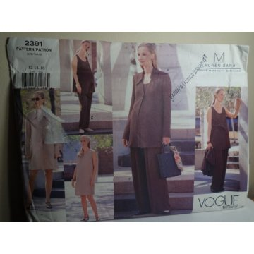 Vogue Lauren Sara Sewing Pattern 2391