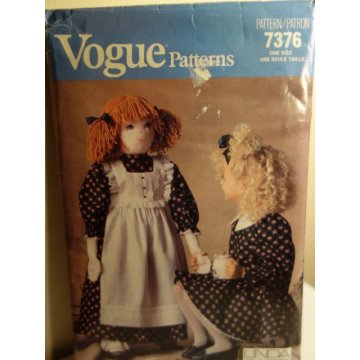 VOGUE Linda Carr Sewing Pattern 7376