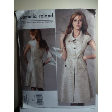 VOGUE Pamella Roland Sewing Pattern 1233