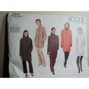Vogue Sewing Pattern 2472