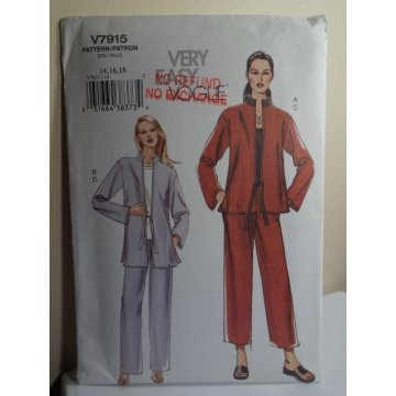 Vogue Sewing Pattern 7915