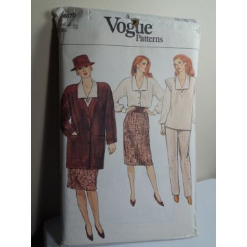 Vogue Sewing Pattern 8870