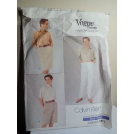Vogue Sewing Pattern Calvin Klein 2472
