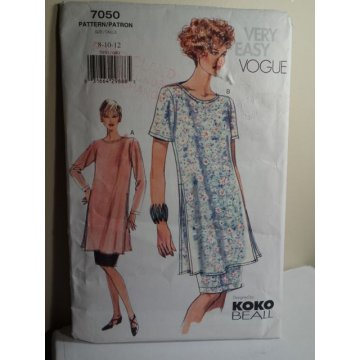 Vogue Sewing Pattern KOKO BEALL 7050