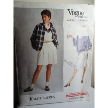 Vogue Ralph Lauren Sewing Pattern 2456