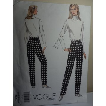 Vogue Sewing Pattern 1003