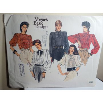 Vogue Sewing Pattern 1200