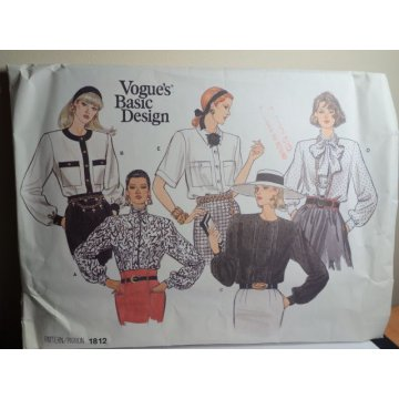 VOGUE Sewing Pattern 1812