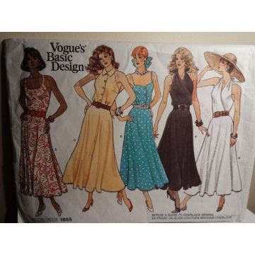 VOGUE Sewing Pattern 1865