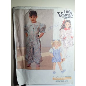 VOGUE Sewing Pattern 2273