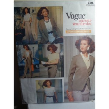 VOGUE Sewing Pattern 2445