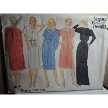VOGUE Sewing Pattern 2918