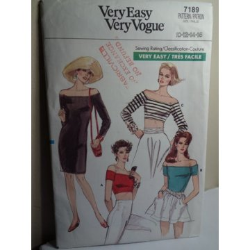 VOGUE Sewing Pattern 7189