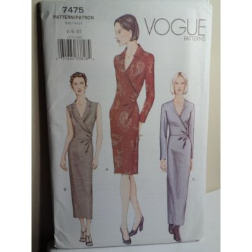 VOGUE Sewing Pattern 7475