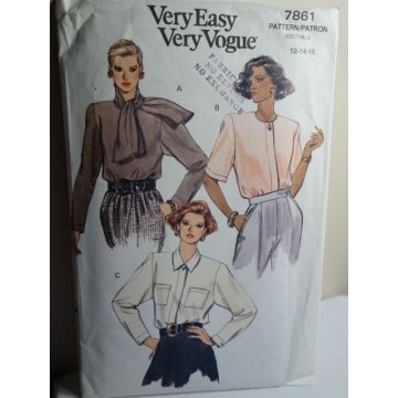 VOGUE Sewing Pattern 7861