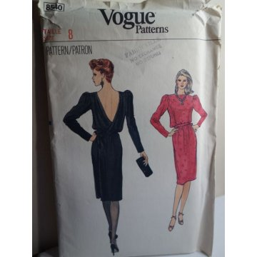 VOGUE Sewing Pattern 8540