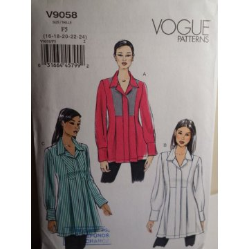 VOGUE Sewing Pattern 9058
