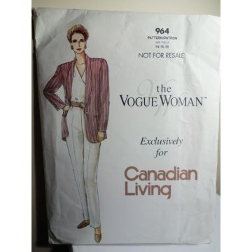 Vogue Sewing Pattern 964